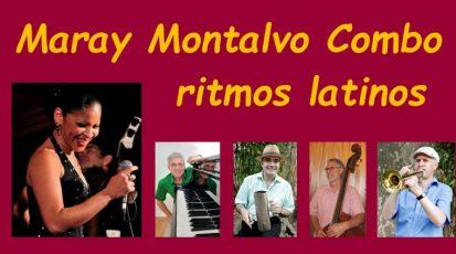 Freitag, 30. Juli 2021, 20 Uhr: Live-Stream mit Publikum: Maray Montalvo Combo